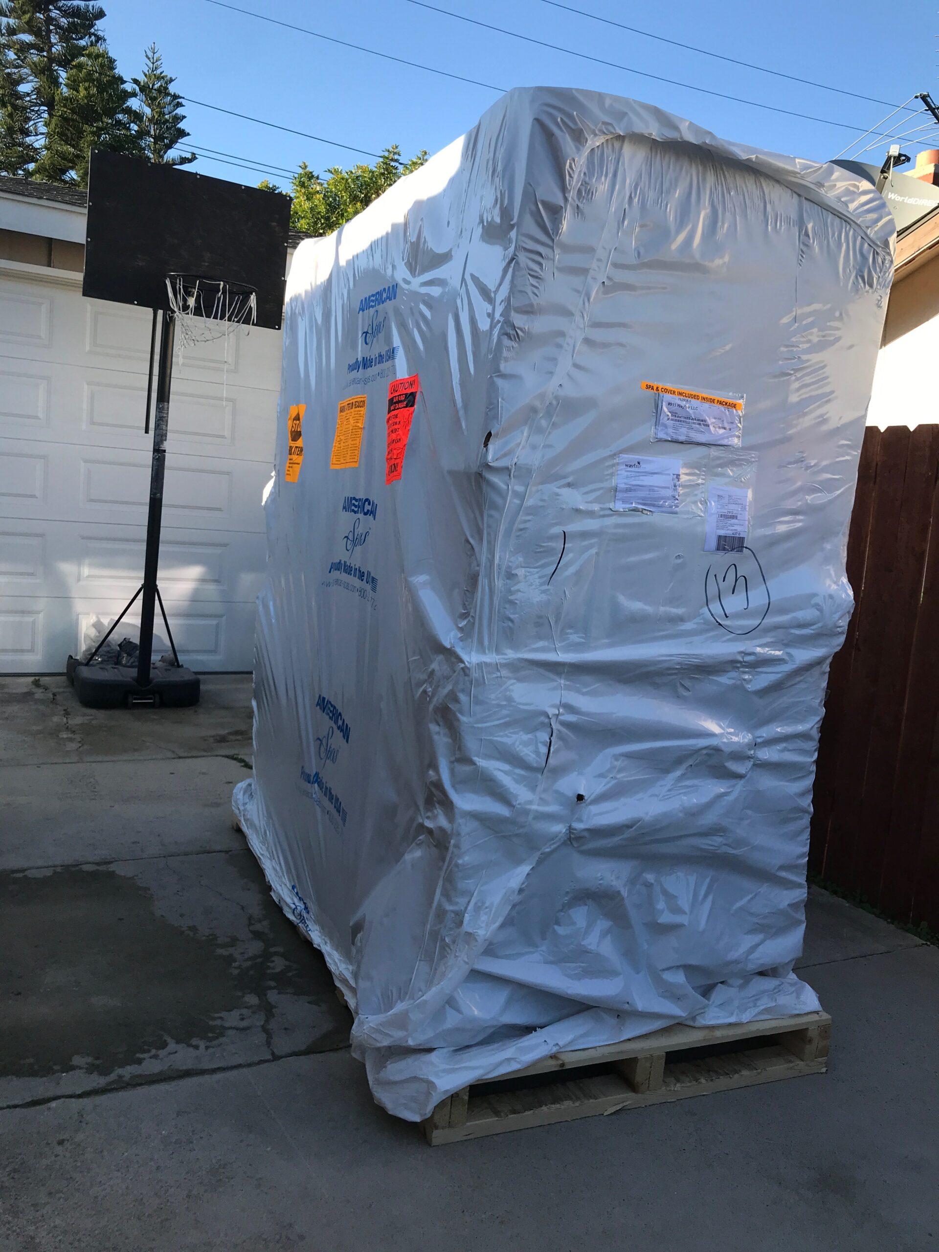 hot tub delivery company Orange County
